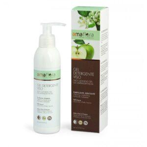 gel limpiador facial ecológico Amaflora