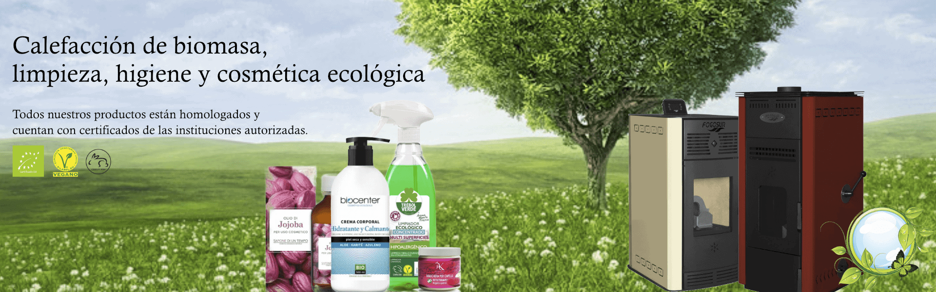 ECOBIOFOC, distribuidor de equipos de calefacción y productos ecológicos